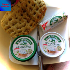 Der grüne Altenburger Ziegenkäse – ein Produkttest mit 3 Käsesorten